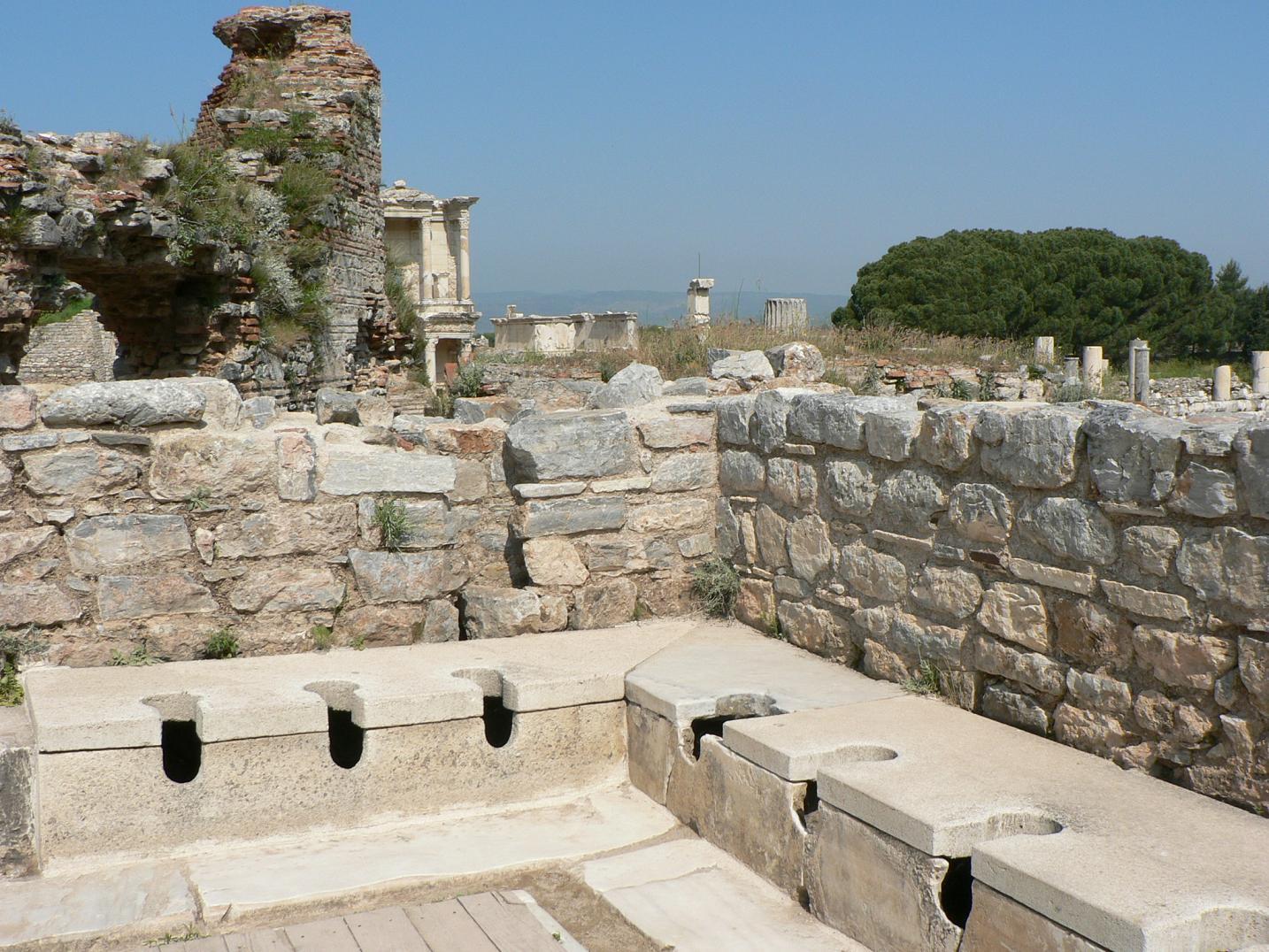 vespasiennes d'Ephèse